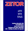 Thumbnail Zetor 4911 5911 5945 Spare Parts Catalog
