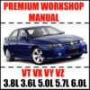 Thumbnail Holden Commodore VT VX VU VY Workshop Manual Online PDF